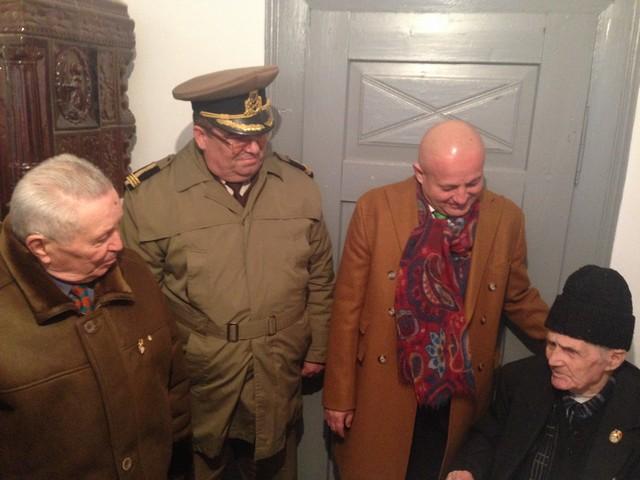 Presedintele Neagu, in vizita la veterani