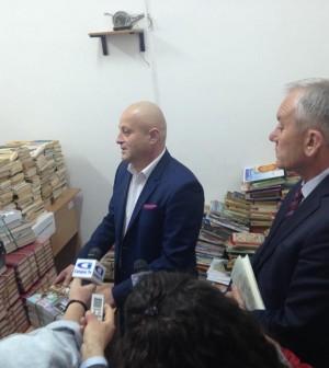 7000 de carti din Buzau, Destin de moldovean