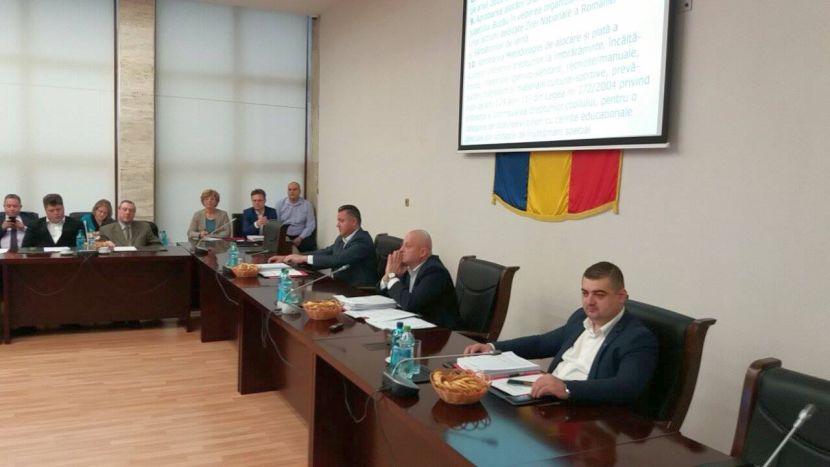 Marti, consilierii judeteni dezbat 29 de proiecte