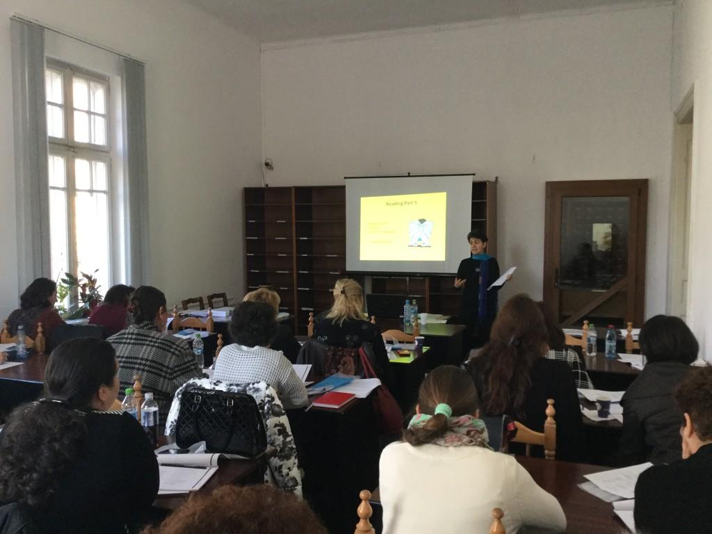 Primul seminar gratuit pentru profesorii de limba engleză
