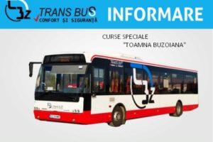 "CURSE SPECIALE LA ""TOAMNA Buzoiana"""